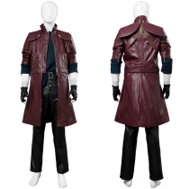 Devil May Cry V DMC5 Dante Aged Outfit Leather Cosplay Costume