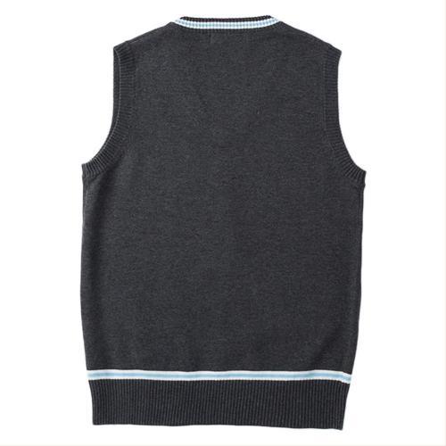 Harry Potter Slytherin Gryffindor  Sweater Uniform Sleeveless V-Collar Teen Adult