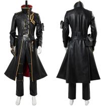Fate/Grand Order Gilgamesh Leather Overcoat Cosplay Costume