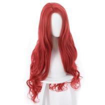 2018 Aquaman Mera Cosplay Wig Red 85CM