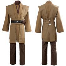 Star Wars Kenobi Jedi TUNIC Cosplay Costume Brown Version No Cloak
