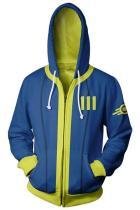 Fallout 4 Hoodie Vault #111 3D Printed Zip Up Sweatshirt