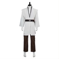 Star Wars Jedi Knight Cosplay Costume White Version No Cloak