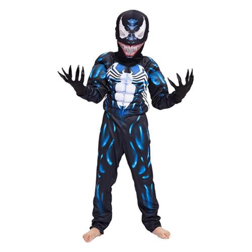 Venom Muscle For Kid Jumpsuit With Claws Cosplay Costume