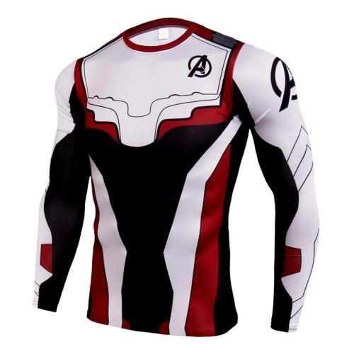 Avengers 4:End Game Quantum Realm Printed Shirt