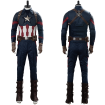 Avengers 4: Endgame SteveRogers Captain America Cosplay Costume