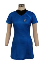 Star Trek Into Darkness Fleet Uhura Blue Dress Uniform Costume Adult Female