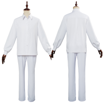 Anime The Promised Neverland Norman Ray Cosplay Costume