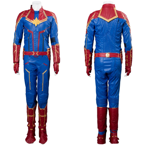 Avengers 4 Captain Marvel Outfit Carol Danvers Cosplay Costume