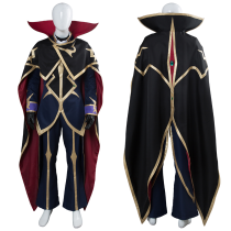 Code Geass: Lelouch of the Resurrection Season 3 Zero Dress Suit Uniform