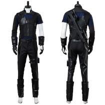 Marvel Captain America 3 Civil War Hawkeye Cosplay Costume