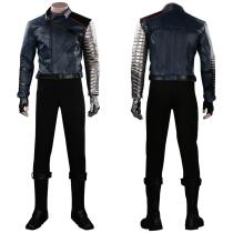 Falcon & Winter Soldier Outfit Bucky Barnes Halloween Carnival Suit Cosplay Costume