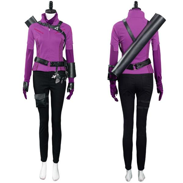 Young Avengers Hawkeye Kate Bishop Halloween Carnival Suit Cosplay Costume