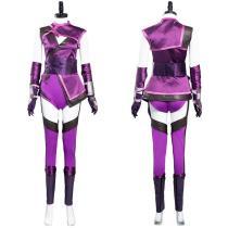Mortal Kombat 11 Halloween Carnival Suit Mileena Cosplay Costume