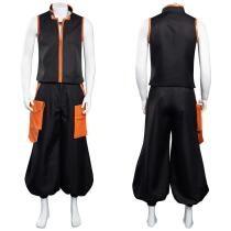 Shaman King The Super Star Halloween Carnival Suit Yoh Asakura Cosplay Costume