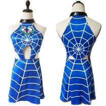 JoJo's Bizarre Adventure Dress Jolyne Cujoh Halloween Carnival Suit Cosplay Costume