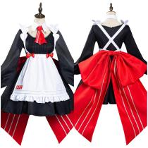 Anime Genshin Impact x KFC Maid Dress Noelle Halloween Carnival Suit Cosplay Costume