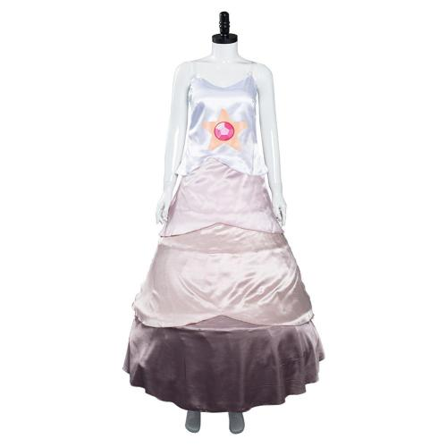 Steven universe Dress Outfit Rose Quartz Halloween Carnival Suit Cosplay Costume