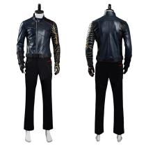 The Falcon and the Winter Soldier Halloween Carnival Suit Bucky Barnes Cosplay Costume