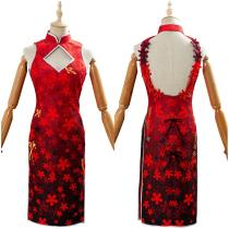 Cheongsam Outfit Cosplay Uniform Custome New Year Game Arknights CHEN