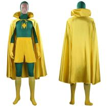 WandaVision Outfit Vision Halloween Carnival Suit Cosplay Costume