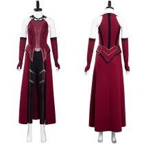 Wandavision Outfit Scarlet Witch Halloween Carnival Suit Cosplay Costume