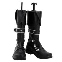 Game Genshin Impact Boots Diluc Ragnvindr Halloween Costumes Accessory Cosplay Shoes