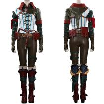 The Witcher Outfit Triss Merigold Halloween Carnival Suit Cosplay Costume