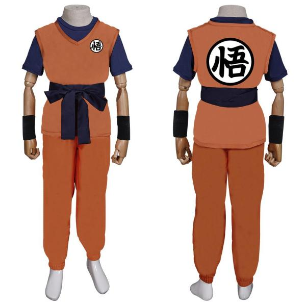Dragon Ball Kids Children Outfit Son Goku Halloween Carnival Suit Cosplay Costume