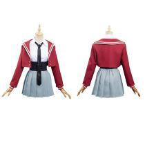 Anime Zombie Land Saga Skirt Outfit Group Uniform Halloween Carnival Suit Cosplay Costume