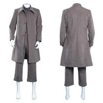 Little Nightmares Coat Outfit Mono Halloween Carnival Suit Cosplay Costume