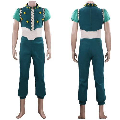 HUNTER×HUNTER Illumi Zoldyck Outfit Halloween Carnival Suit Cosplay Costume