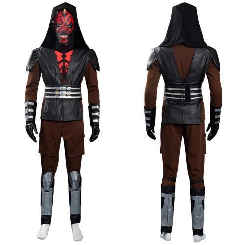 Star Wars: The Clone Wars Darth Maul Halloween Carnival Suit Cosplay Costume