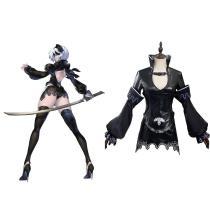 NieR Re[in]carnation 2B Cosplay Costume Halloween Carnival Suit
