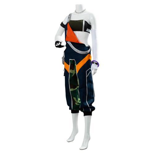 League of Legends LOL TRUE DAMAGE Akali Suit Cosplay Costume