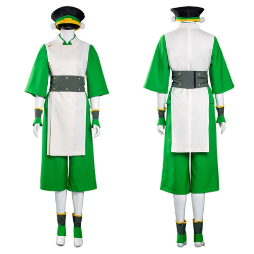Avatar: The Last Airbender Vest Pants Outfit Toph bengfang Halloween Carnival Suit Cosplay Costume