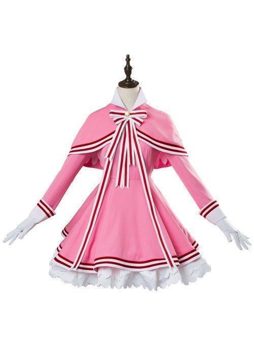 Cardcaptor Sakura 2 CCS 2 Kinomoto Sakura Dress Cosplay Costume