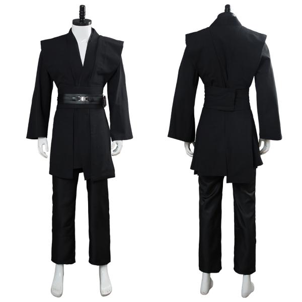 Star Wars Kenobi Jedi TUNIC Cosplay Costume Black Version No Cloak