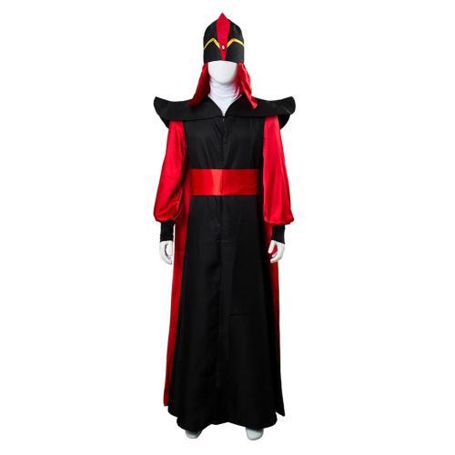 Aladdin Jafar Villain Cosplay Costume