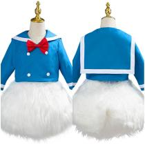 Donald Duck Outfit Halloween Carnival Costume for Kids Children Cosplay Costume