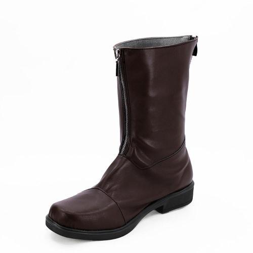 Persona 5 P5 Makoto Niijima Boots Coplay Shoes