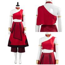 Avatar: the last Airbender Women Dress Outfit Katara Halloween Carnival Costume Cosplay Costume