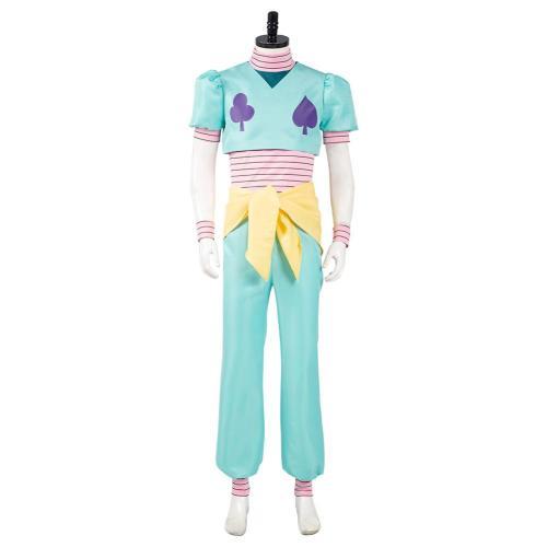 Hunter x Hunter Top Pants Outfit Hisoka Halloween Carnival Suit Cosplay Costume