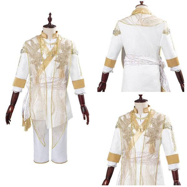 Twisted-Wonderland Leona Kingscholar Cosplay Costume Outfits Halloween Carnival Suits