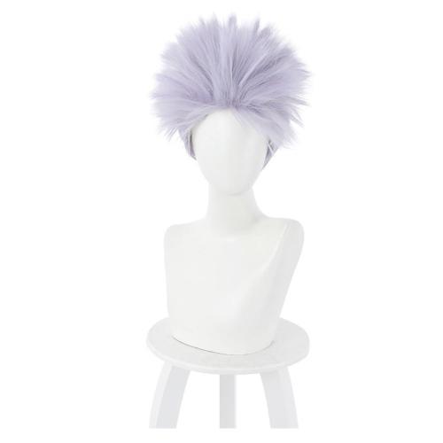 Jujutsu Kaisen Heat Resistant Synthetic Hair Satoru Gojou Carnival Halloween Party Props Cosplay Wig
