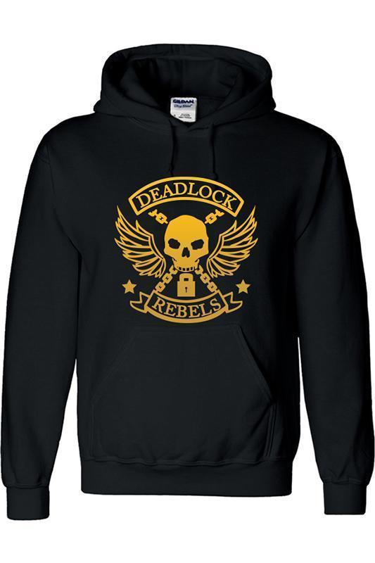 Overwatch Hoodie Ashe Black Deadlock Rebels Pullover Sweatshirt