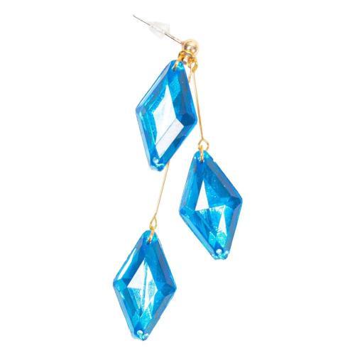 Twisted-Wonderland Jade/Floyd Cosplay Ear Ring Pendant Earrings for Women Men Costumes Jewelry Prop