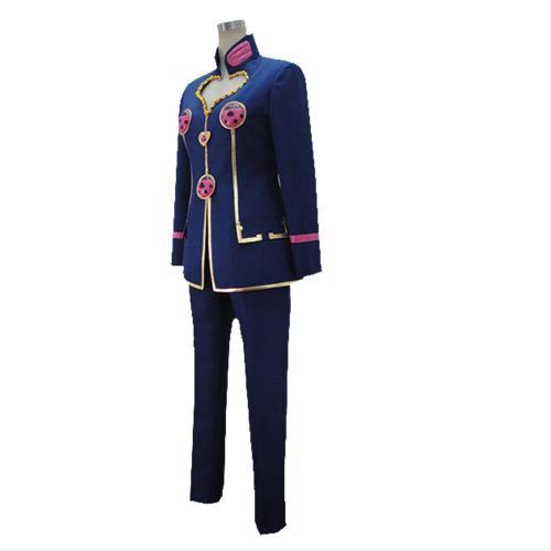 JoJo's Bizarre Adventure: Golden Wind Giorno Giovanna Cosplay Costume Blue