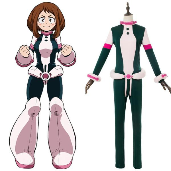 My Hero Academia Boku no Hero Akademia Ochako Uraraka Battle Suit Outfit Cosplay Costume