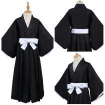 Bleach Kimono Outfits Kurosaki ichigo/Kuchiki Rukia/HitsugayaToushirou Die pa Halloween Carnival Suit Cosplay Costume